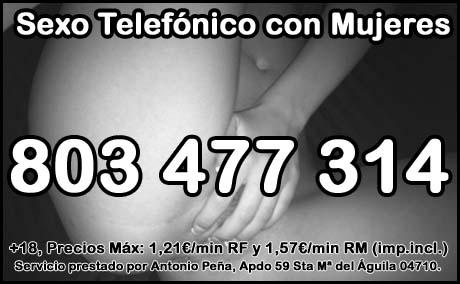 sexo telefónico con mujeres