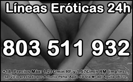 líneas eróticas